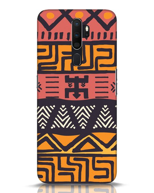 Shop Tribal Ethnic Oppo A5 2020 Mobile Cover-Front