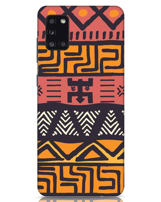 Shop Tribal Ethnic Samsung Galaxy A31 Mobile Cover-Front