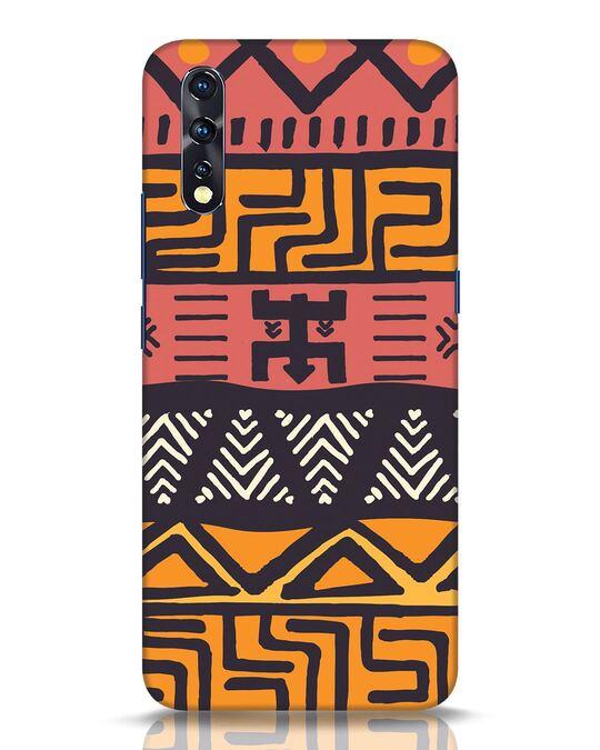 Shop Tribal Ethnic Vivo Z1x Mobile Cover-Front