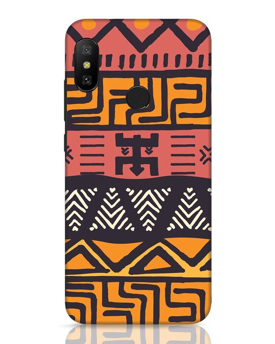 Shop Tribal Ethnic Xiaomi Redmi 6 Pro Mobile Cover-Front