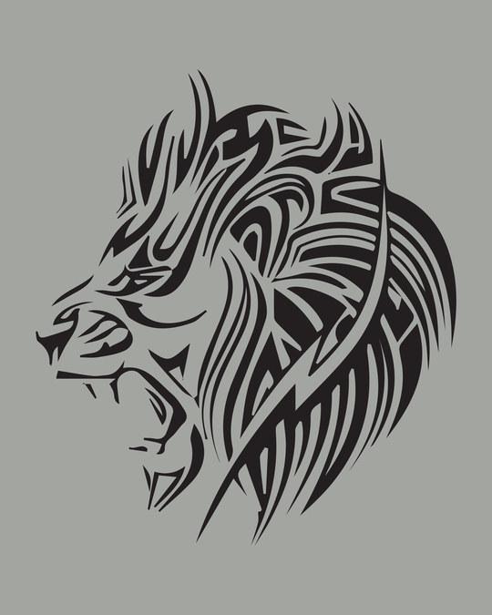 Shop Tribal Lion Full Sleeve T-Shirt-Full