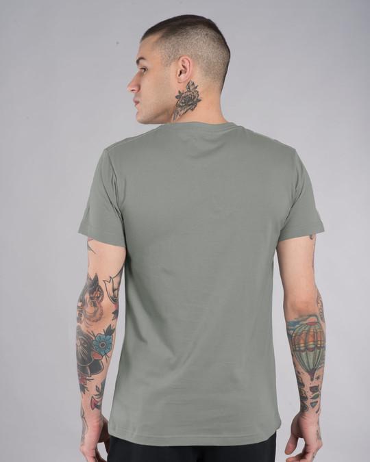 Shop Tribal Lion Half Sleeve T-Shirt-Back