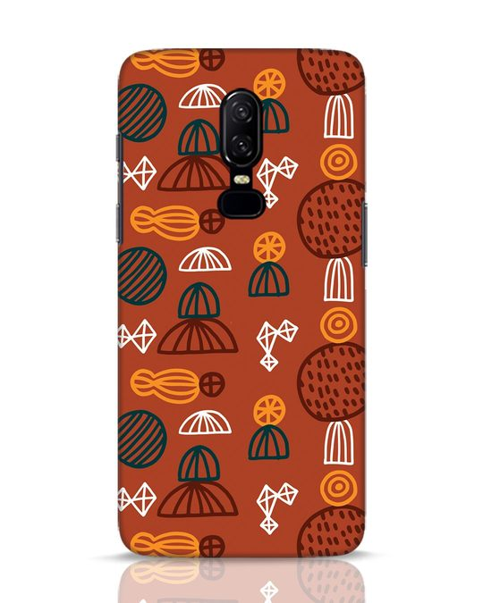 Shop Tribal Print OnePlus 6 Mobile Cover-Front