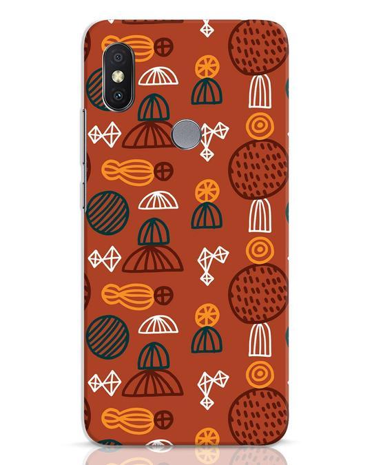 Shop Tribal Print Xiaomi Redmi Y2 Mobile Cover-Front