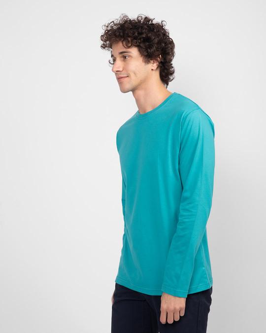 Shop Tropical Blue Full Sleeve T-Shirt-Design