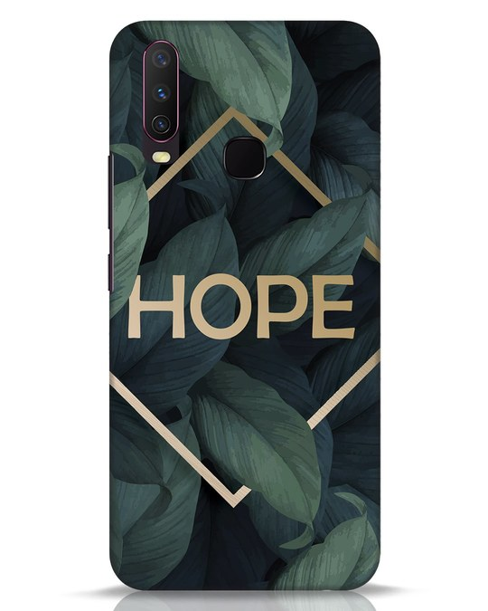 Shop Tropical Leaves Hope Vivo Y17 Mobile Cover-Front