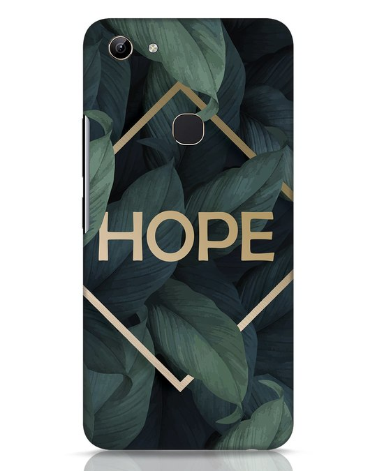 Shop Tropical Leaves Hope Vivo Y81 Mobile Cover-Front