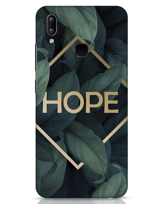 Shop Tropical Leaves Hope Vivo Y91 Mobile Cover-Front