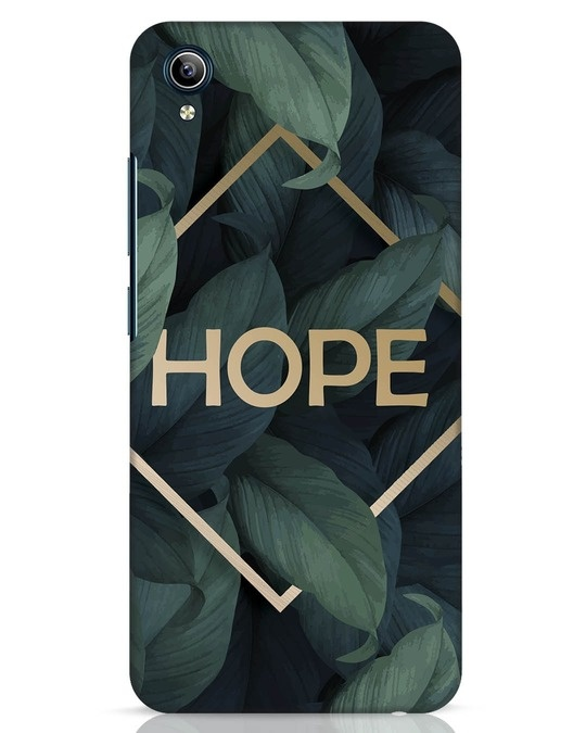 Shop Tropical Leaves Hope Vivo Y91i Mobile Cover-Front