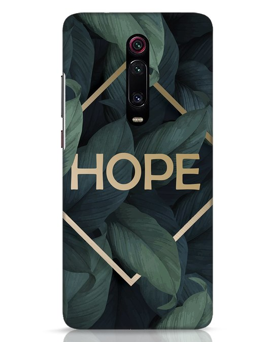 Shop Tropical Leaves Hope Xiaomi Redmi K20 Pro Mobile Cover-Front