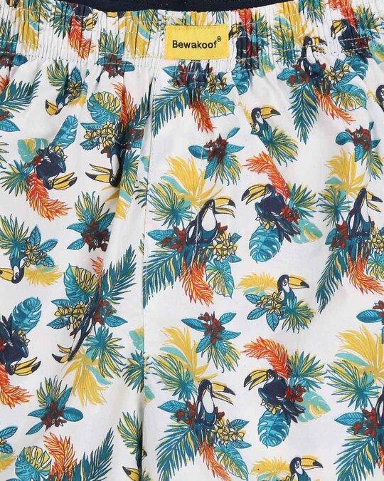 Shop Tropical Toucan Men's Printed Boxers