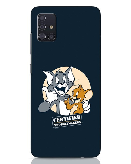 Shop Troublemakers Samsung Galaxy A51 Mobile Cover-Front