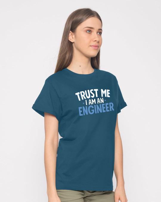 Shop Trust An Engineer Boyfriend T-Shirt-Back