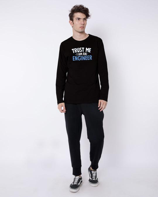 Shop Trust An Engineer Full Sleeve T-Shirt-Full