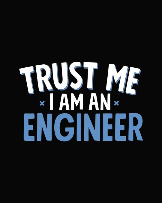 Shop Trust An Engineer Half Sleeve T-Shirt