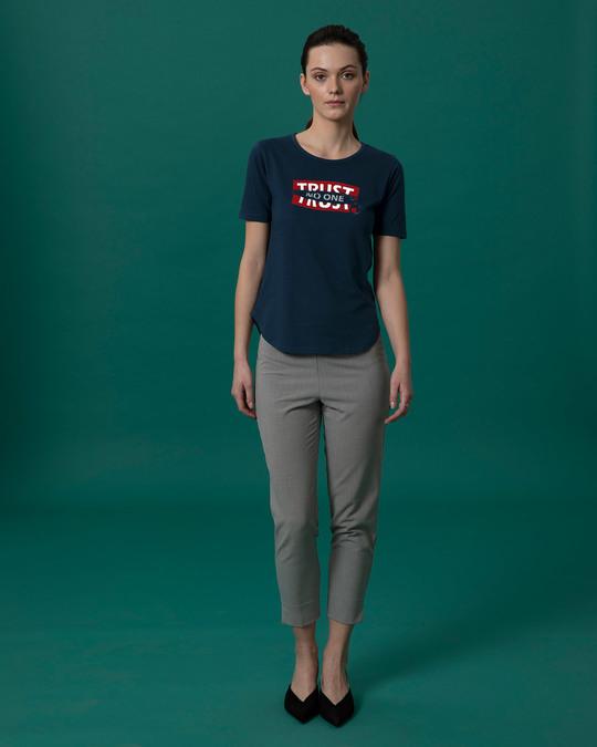 Shop Trust Chain Basic Round Hem T-Shirt-Full