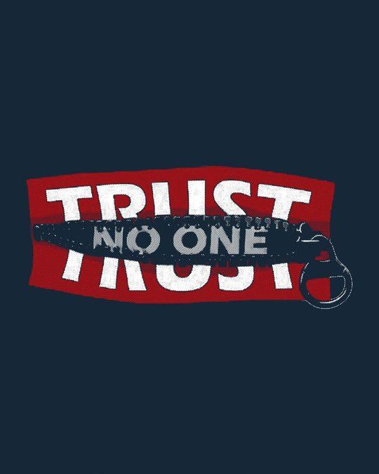 Shop Trust Chain Basic Round Hem T-Shirt