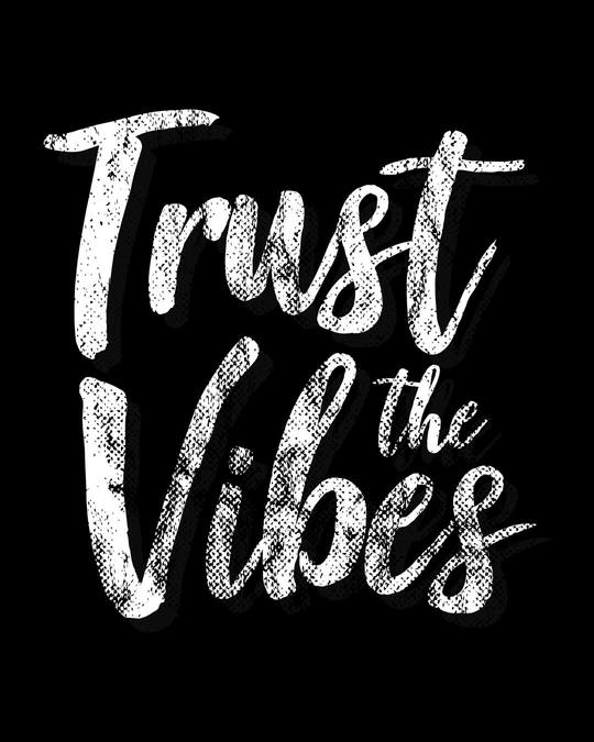 Shop Trust The Vibes Boyfriend T-Shirt