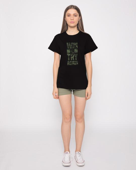 Shop Try Again Boyfriend T-Shirt