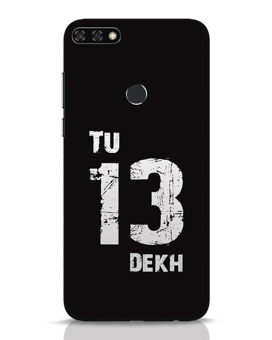 Shop Tu 13 Dekh Huawei Honor 7C Mobile Cover-Front