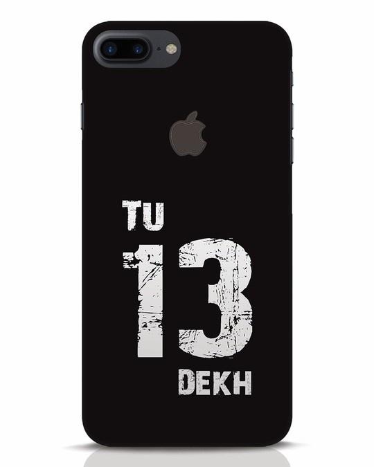 Shop Tu 13 Dekh iPhone 7 Plus Logo Cut Mobile Cover-Front