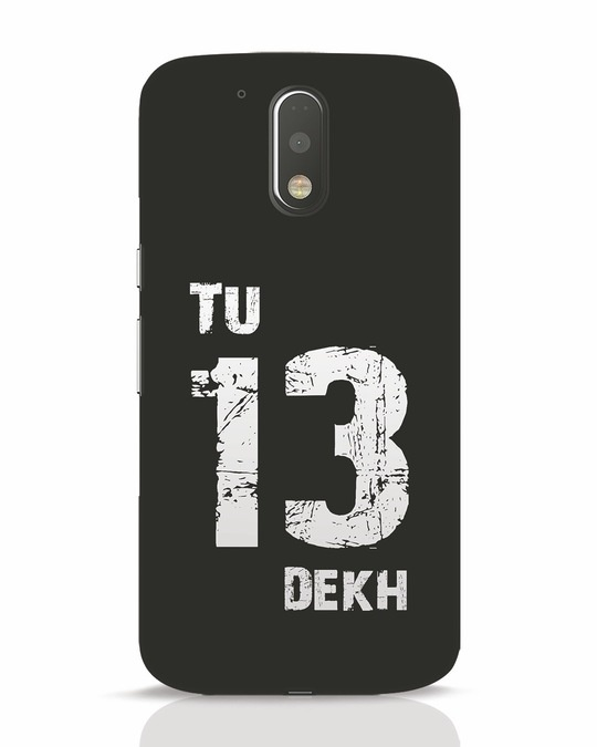 Shop Tu 13 Dekh Moto G4 Plus Mobile Cover-Front