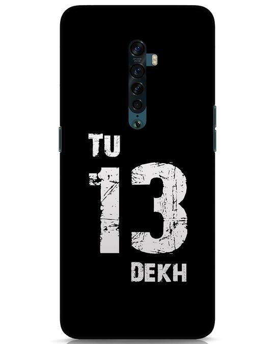 Shop Tu 13 Dekh Oppo Reno 2 Mobile Cover-Front