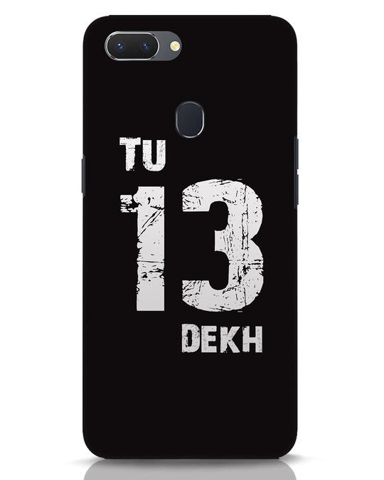 Shop Tu 13 Dekh Realme 2 Mobile Cover-Front