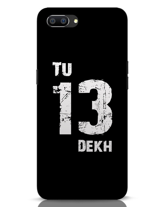 Shop Tu 13 Dekh Realme C1 Mobile Cover-Front