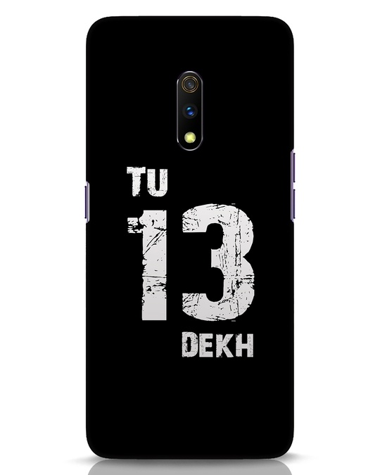 Shop Tu 13 Dekh Realme X Mobile Cover-Front