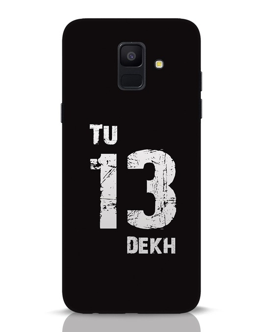 Shop Tu 13 Dekh Samsung Galaxy A6 2018 Mobile Cover-Front