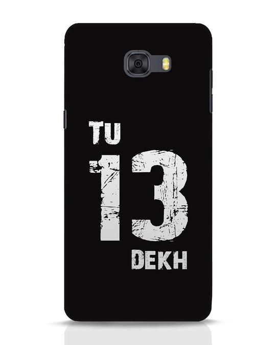 Shop Tu 13 Dekh Samsung Galaxy C9 Pro Mobile Cover-Front