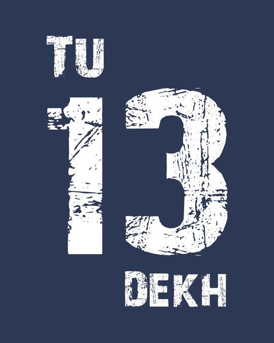 Shop Tu 13 Dekh Vintage Boyfriend T-Shirt