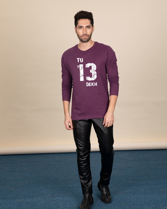 Shop Tu 13 Dekh Vintage Full Sleeve T-Shirt-Full