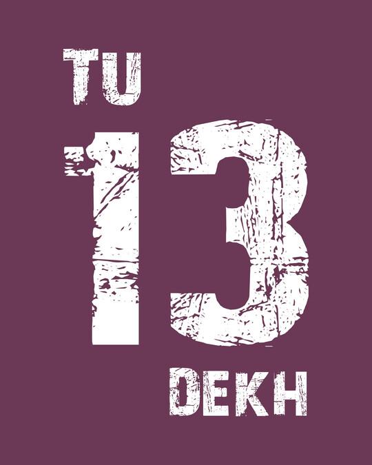 Shop Tu 13 Dekh Vintage Full Sleeve T-Shirt-Full