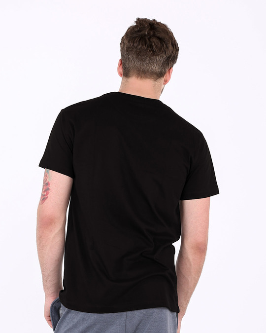 Shop Tu 13 Dekh Vintage Half Sleeve T-Shirt-Back