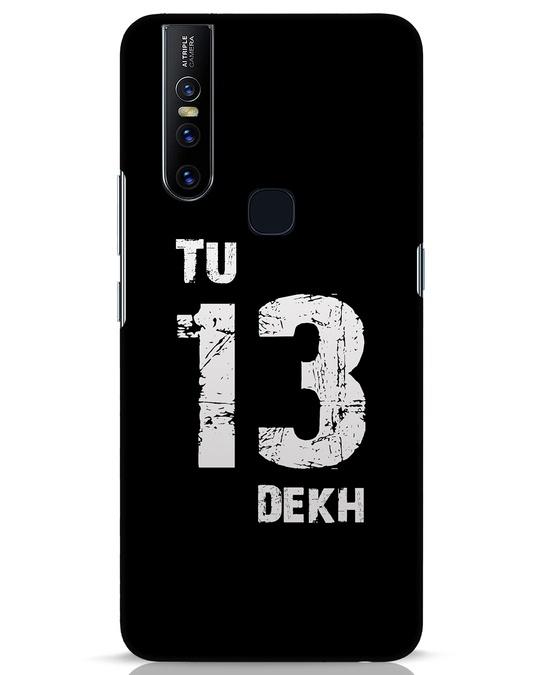 Shop Tu 13 Dekh Vivo V15 Mobile Cover-Front