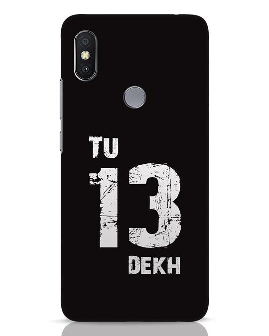 Shop Tu 13 Dekh Xiaomi Redmi Y2 Mobile Cover-Front