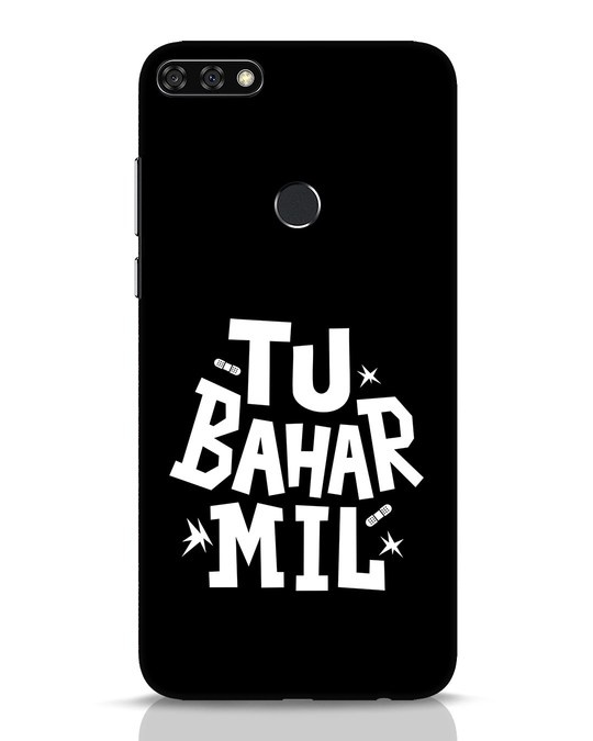 Shop Tu Bahar Mil Huawei Honor 7C Mobile Cover-Front