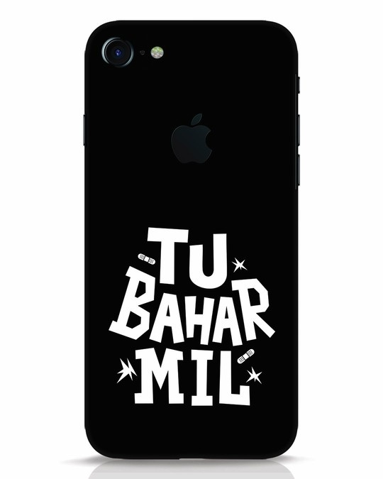 Shop Tu Bahar Mil iPhone 7 Logo Cut Mobile Cover-Front