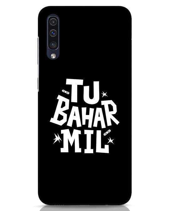 Shop Tu Bahar Mil Samsung Galaxy A50 Mobile Cover-Front