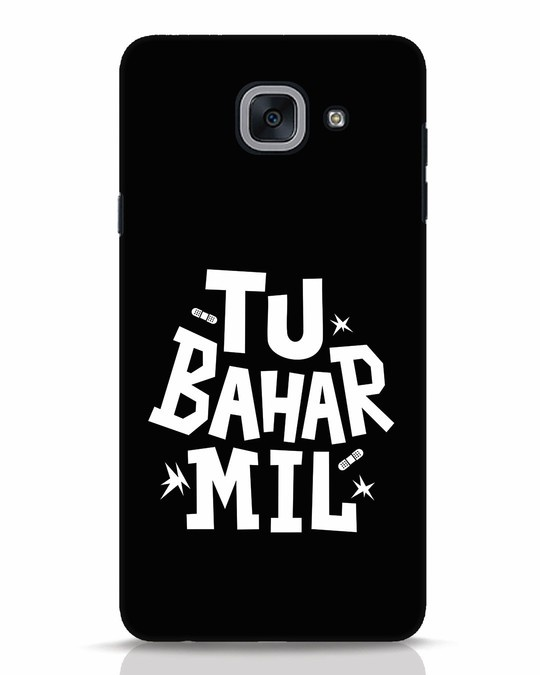Shop Tu Bahar Mil Samsung Galaxy J7 Max Mobile Cover-Front