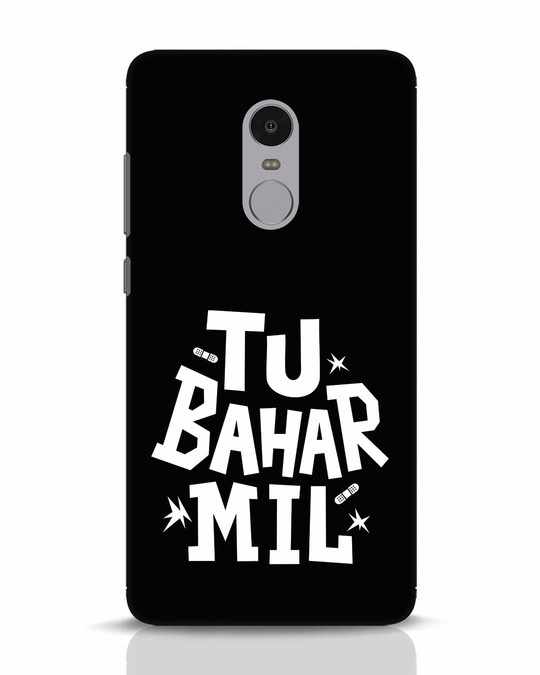 Shop Tu Bahar Mil Xiaomi Redmi Note 4 Mobile Cover-Front