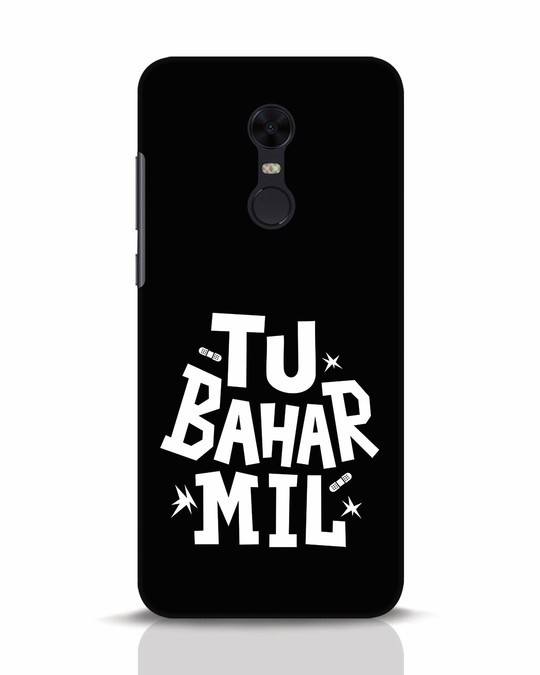 Shop Tu Bahar Mil Xiaomi Redmi Note 5 Mobile Cover-Front