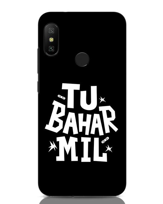Shop Tu Bahar Mil Xiaomi Redmi Note 6 Pro Mobile Cover-Front