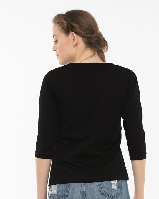 Shop Tumcha Hukum Round Neck 3/4th Sleeve T-Shirt-Design