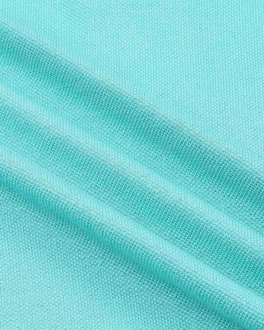 Shop Turquoise Pique Polo