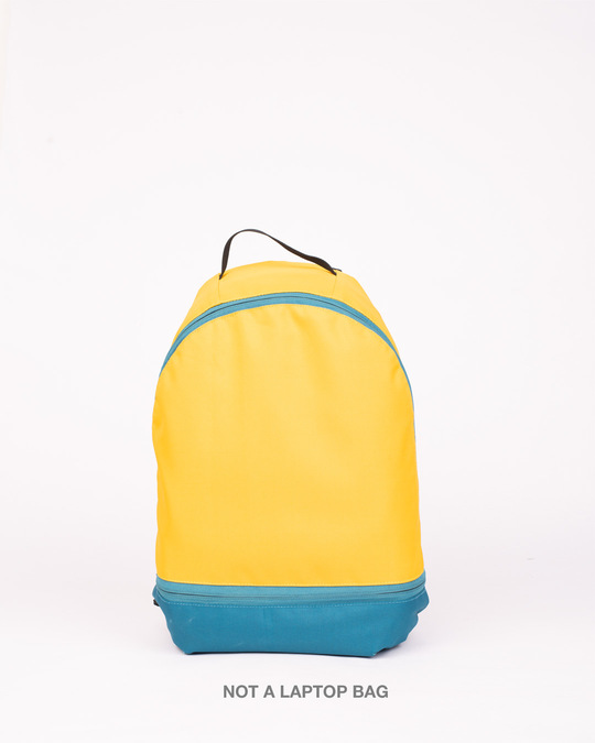 Shop Tuscan Sun Plain Backpack-Front