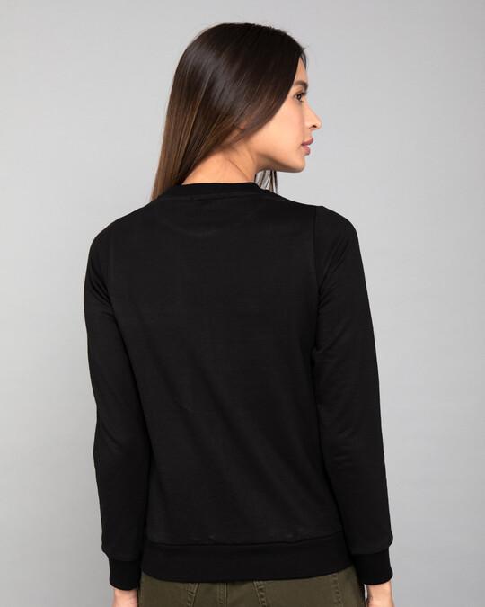 Shop Tweety And The Butterfly Fleese Light Sweatshirts (TWL)-Back