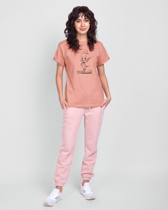Shop Tweety origami Boyfriend T-Shirts (LTL)-Design